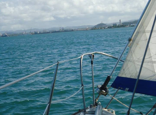 Navegando por La Bahía de San Juan, PR