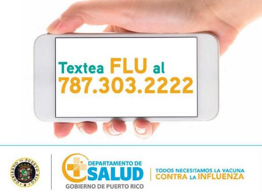Centros de Vacunación para la Influenza