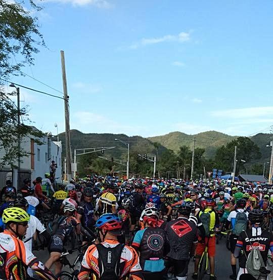 Muchos ciciclistas