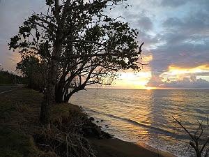Atardecer en la Bahía de Mayagüez, Puerto Rico