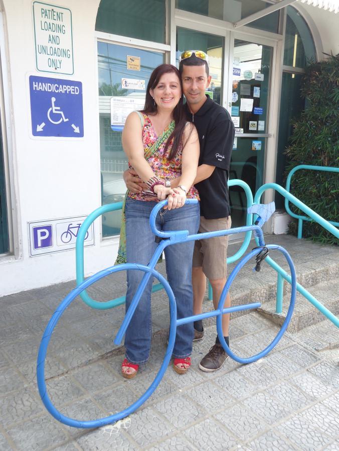 Nosotros, siempre cerca de las bicicletas.
