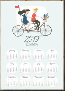 Bike Calendar