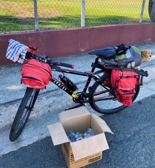 Cargando las Bicis