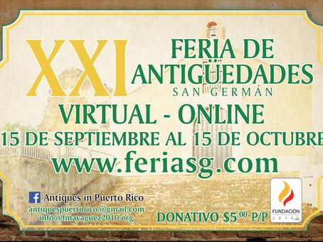 Feria de Antigüedades de San Germán - Online