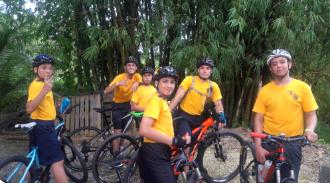 Bicicletada de los Sea Cadets en San Germán
