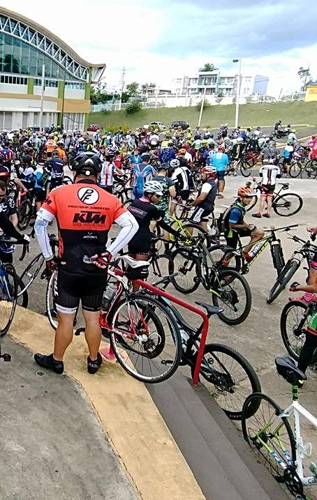 Más de 2,000 ciciclista