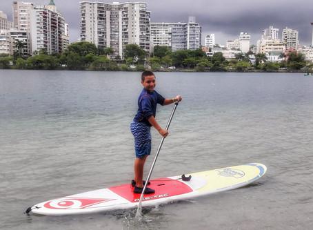 Paddle Boarding en la Laguna del Condado, San Juan