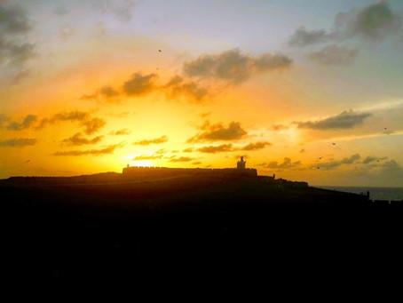 Atardecer en el Castillo San Felipe del Morro, Puerto Rico