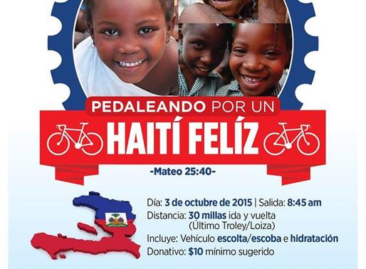Pedalea por Haití
