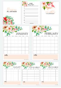 Life & Blog Planner