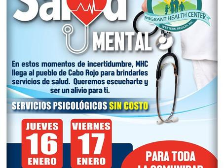 Feria de Salud Mental, Cabo Rojo