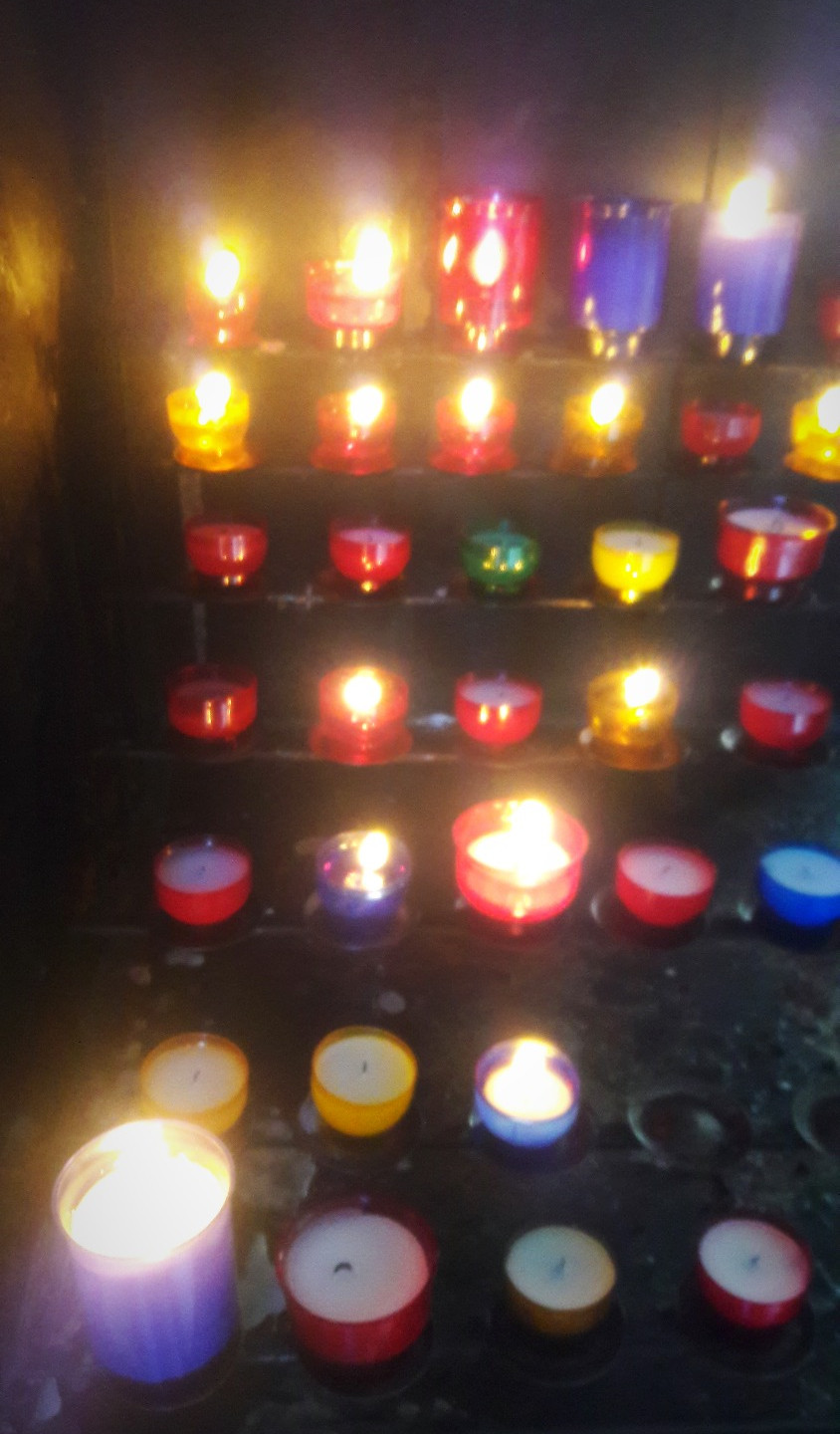 Candles for pray