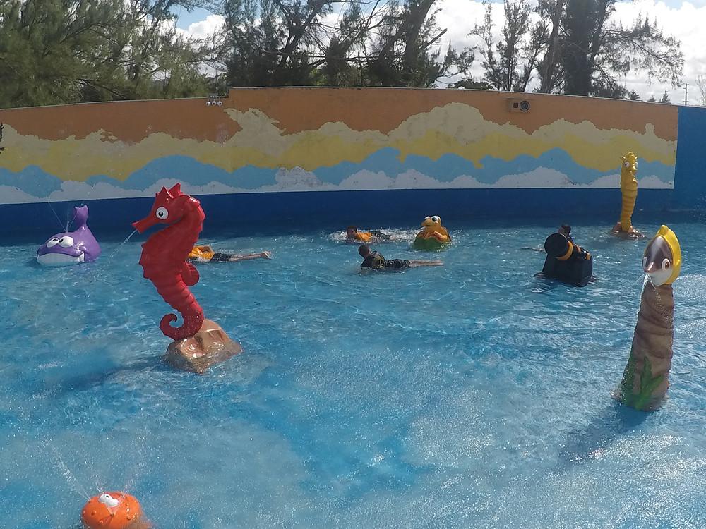 Chorreras y Chorritos para los niños / Mini Water Park