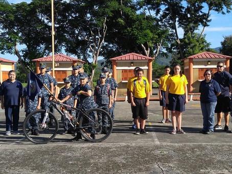Pedaléalo con los Naval Sea Cadets