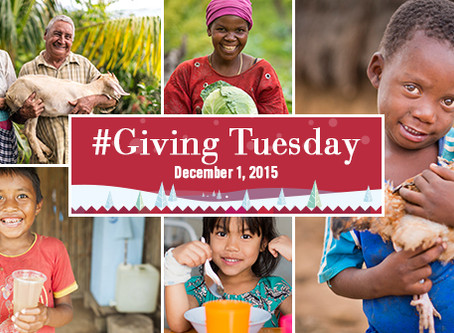 Giving Tuesday para Samaritan's Purse
