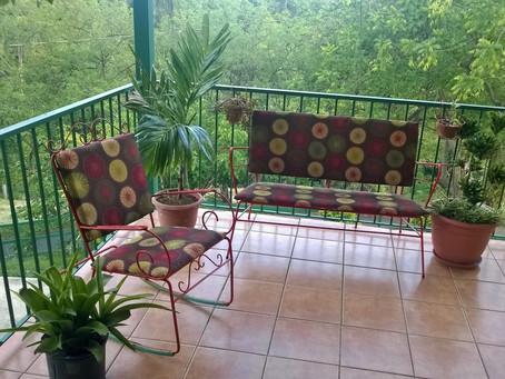 Tapizar Muebles con una Cortina de Baño
