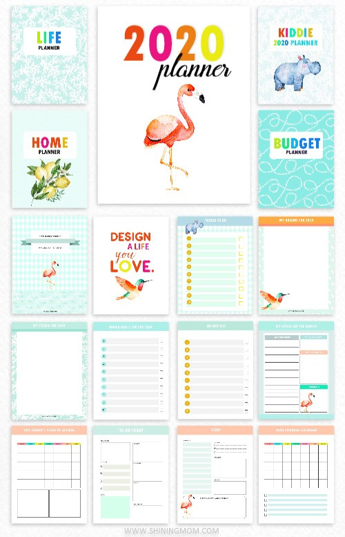 2020 Design a Life You Love Planner