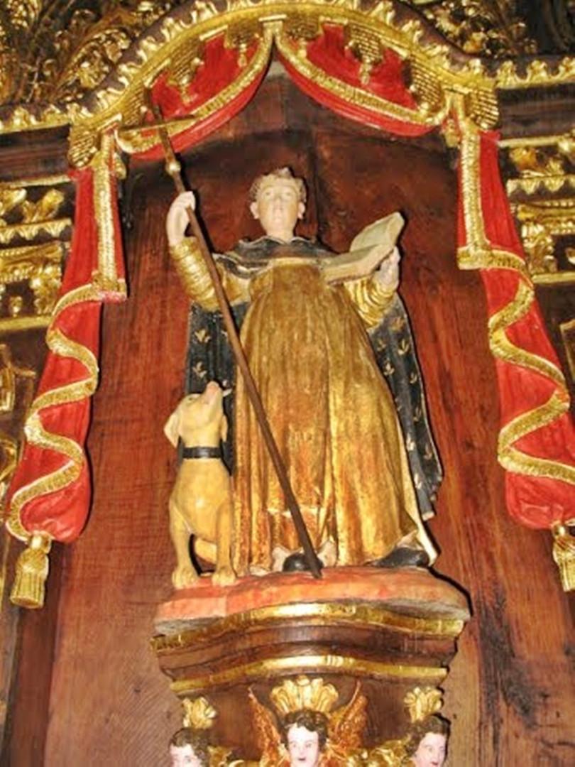 Capela do Custilhão Imagem São Domingos.