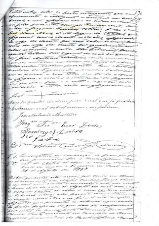 Dote Eclesiastico de Joaquim Ferreira Ce