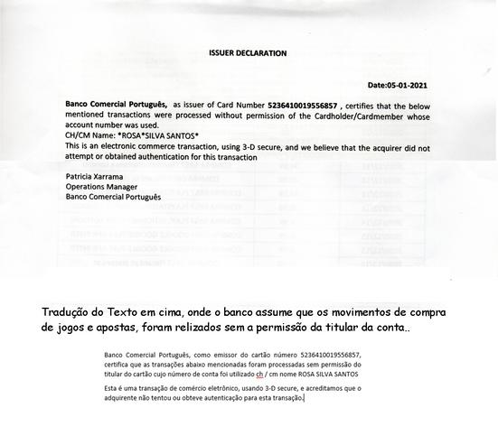 Documento fornecido prlo BCP