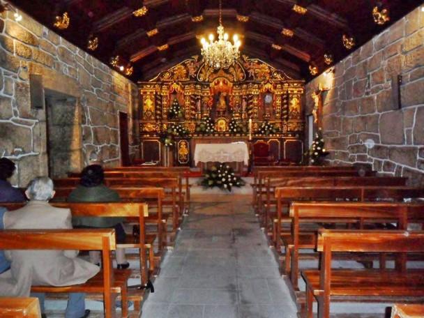 Interior da Capela de São Domingos á noi