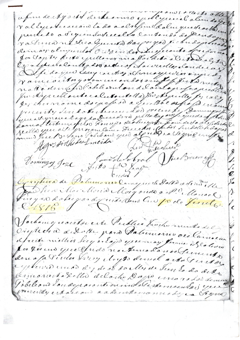 Dote Eclesiastico de Manuel Ferreira Car