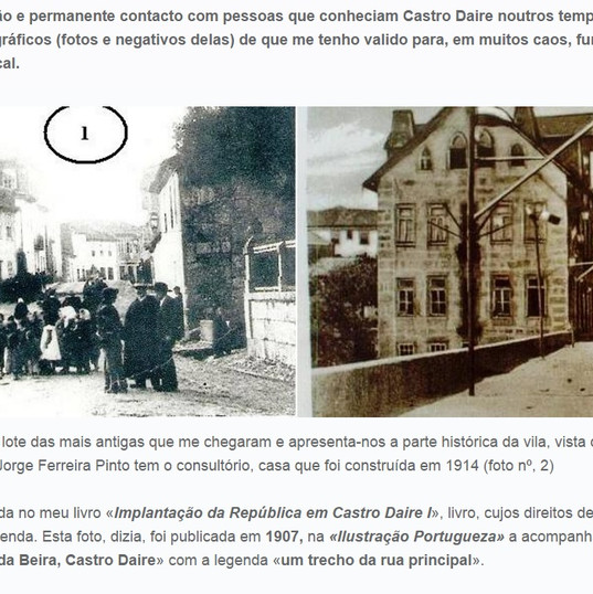 Coreto Castro Daire de ABilio Pereita de
