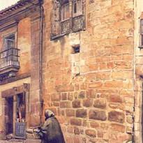 Rua de D. Duarte, em 1921, segundo aguar