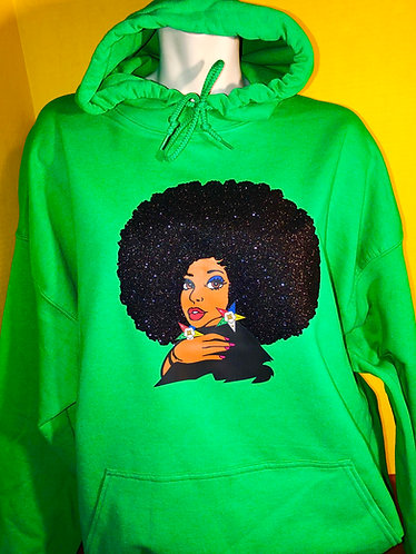 Blingy Afro ES Hoodie