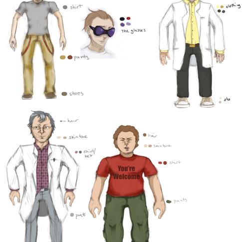 Dweeb Mc Dermitt: Character Guide