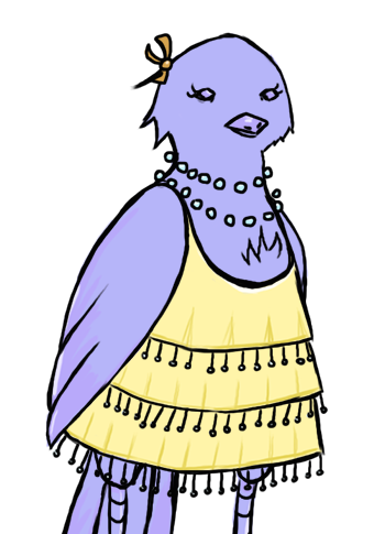 Glass Bird Sprite - Female