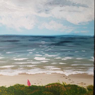Galveston Beach - Incoming Storm
