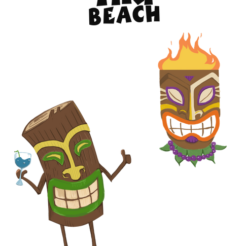 Tiki Men Concepts