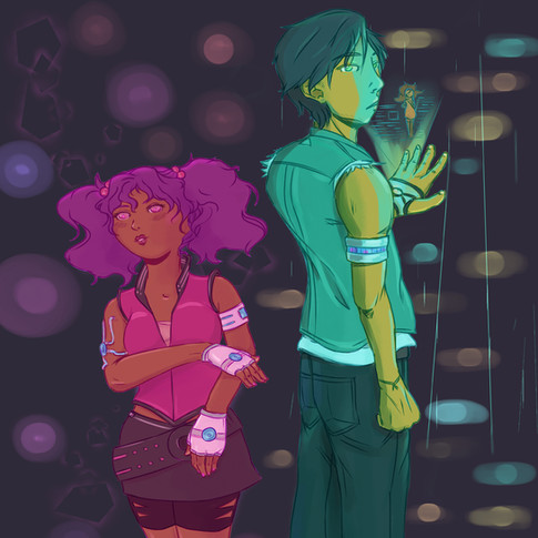 Cyberpunk Original Characters