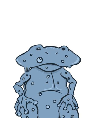 Water Frog Sprite
