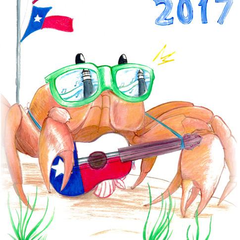 2017 Crab Fest Winning Design