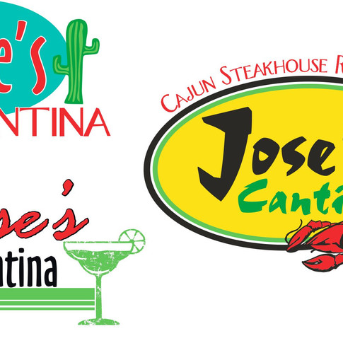Jose's Cantina Concept Logos