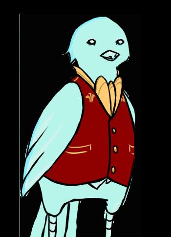 Glass Bird Sprite - Male