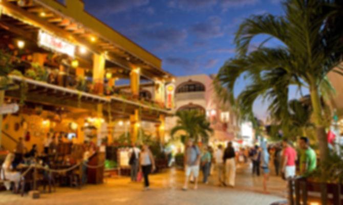 Playa del Carmen famosa por su quinta avenida