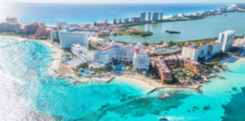 Cancun Zona Hotelera donde s encuentran la mayor parte de hoteles.