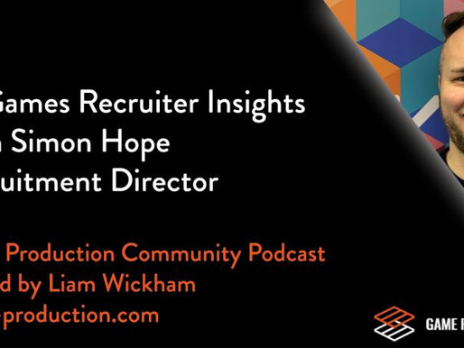 Podcast Episode: Game Recruitment Insights with Simon Hope