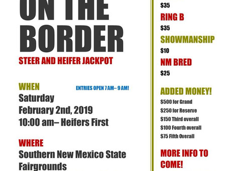 Upcoming New Mexico Club Calf Shows