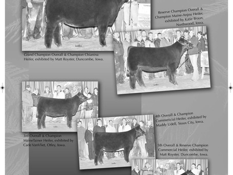 Throwback Thursday: Iowa Beef Expo 2009