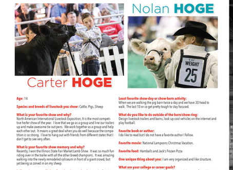 Carter and Nolan Hoge in the OOTC Spotlight