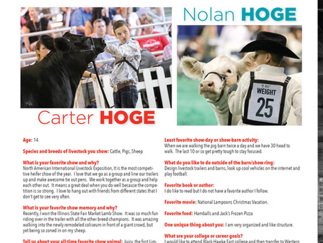 Carter and Nolan Hoge in the OOTC Spotlight