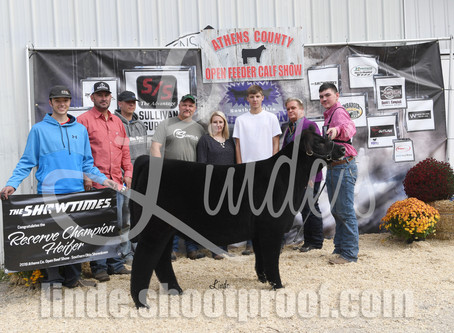 Athens County Open Beef Show Winners