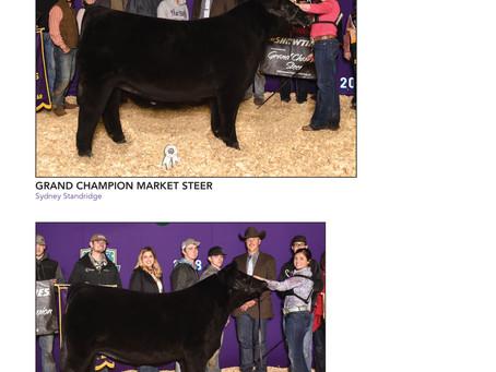 Show Results: Arkansas State Fair, Jordan Mack, Miner County