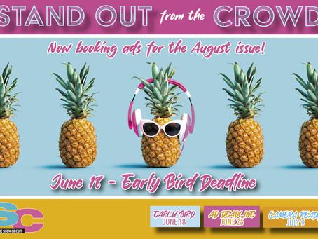 🍍😎  STAND OUT FROM THE CROWD