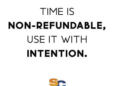 Be intentional ➡️ ALWAYS!
