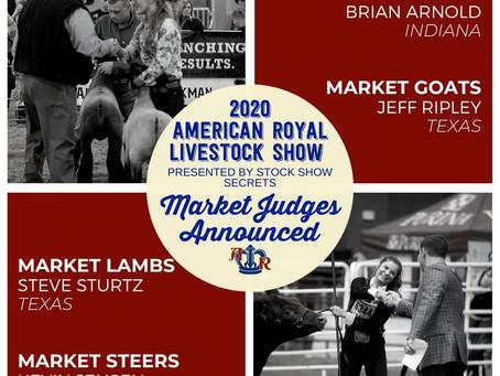 American Royal Jr Market Judges